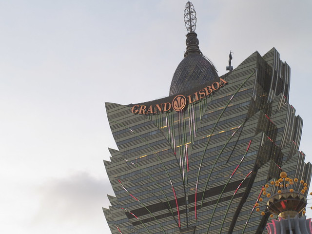 Macau trip - Grand Lisboa casino