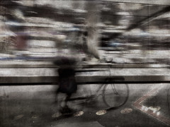 Life on a Bike (J.A.D.A.) Tags: slowshutter iphoneart imageblender iphone4s scratchcam snapseed popsicolor