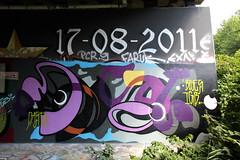 graffiti (wojofoto) Tags: graffiti streetart amsterdam holland wojofoto hof flevopark amsterdamsebrug nederland netherland wolfgangjosten