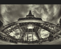 The Iron Lady (Ckopsy_Photography) Tags: paris france canon ciel toureiffel 7d 75 8mm iledefrance panam hdr blanckandwhite photomatix frecnh samyang ckopsy flickrstruereflection1 flickrstruereflection2 flickrstruereflection3 flickrstruereflection4 flickrstruereflection5