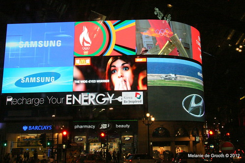 Piccadilly Circus Video Display 2