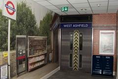 Entrance to West Ashfield Station (RyanTaylor1986) Tags: station training tube entrance fake mockup londonunderground facility mock pretend westkensington nopassengers ashfieldhouse westashfield