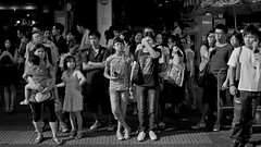 Faces of Hong Kong (Ding Yuin Shan) Tags: leica portrait people blackandwhite faces m8 intersection mongkok 169 crowded dingyuinshan
