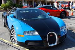 Bugatti Veyron (Albert's Images) Tags: canon 400d xti eos efs1785mmf456isusm dxo dxoopticspro saratoga saratogaclassiccarshow bugatti veyron grandtouringcar car luxury wealth july222012