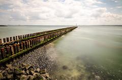 Vlissingen (Paul_jazzy83) Tags: bw seascape nikon wave tokina vlissingen breaker 1116mm d7000 110nd