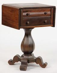 78. Classical Two Drawer Work Table