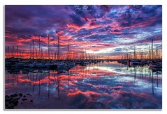 Manly Harbour Sunrise (Troy Holt Photography) Tags: australia queensland brisbane manly harbour boats still sunrise colour clouds water beach ocean canon 6d lee filters long exposure seascape