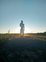 Warrior Sculpture (johnny_cache_ie) Tags: ireland art irishhistory