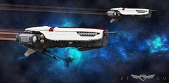 UNEN Marie Curie (John Moffatt) Tags: lego ship space spaceship cruiser missile sci fi scifi science fiction spacecraft une earth future 23rdcentury 23cu