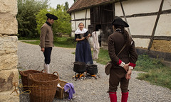 Viehmarkt 1756 - Wackershofen-0923.jpg (Siegfried Kreuzer) Tags: reenactment freilichtmuseum wackershofen viehmarkt 1756