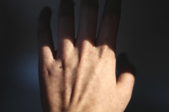 ELEVATION 2 / self awareness (Elena Candeliere) Tags: hand hands fingers selfawareness pieces selfphotography old threeselfportrait arms colours