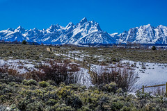 Grand Teton range--DSC00519--Jackson Hole Valley, Wyoming (Lance & Cromwell back from a Road Trip) Tags: nationalpark roadtrip 2016 grandtetons