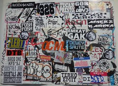Zoer (Visual Chaos) Tags: zoer zoerscicrew zoersci sticker slaptag terko emit roman sirrobone flert fosh emkay ameks karma tucan presto dank dekah aero aigo vaner orangecountygraffiti graffiti hellomynameis thoex mash dtb ocm 326 societalsjinx godislove john146 homie