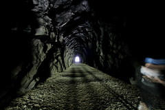 Othello  Tunnels   Hope BC (bottledale999) Tags: tunnel bc beautiful outdoors landscape dark light railway kettle valley old creepy summer othello othelo ghost haunted