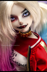 Puddin (vampyre_angel13) Tags: harleyquinn harley quinn dccomics suicidesquad luts sdf event head delf bjd