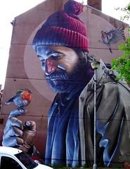 Dealbh-bhalla le Smug, Glaschu (Rhisiart Hincks) Tags: murlun mural dealbhbhalla livadurmoger graffiti celfystryd streetart