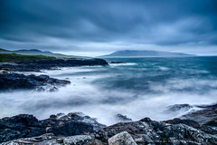 Horgabost, Isle of Harris | SCOTLAND (w.mekwi photography [here & there]) Tags: westernisles horgabost beach scotland cloudy leebigstopper rocks isleofharris longexposure wmekwiphotography landscape uk nikond800 waves
