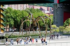 Bilbao Guggenheim Museum - Louise Bourgeois (samuelloz) Tags: guggenheim bolbao bourgeois louise spider ragno spain espana spagna