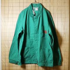 euro Work CoverAll Jacket UUUPPPPPP!!! (ataco-garage) Tags:          70s 70 usa atacogarage autumn coverall euro used vintage work workjacket