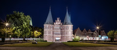The Holsten Gate (Lbeck, Germany) (langtimoalex) Tags: holsten gate city luebeck lbeck germany deutschland lang timo sony alpha 7 mk ii zeiss loxia 21mm night long exposure langzeitbelichtung tor architecture architekturfotografie