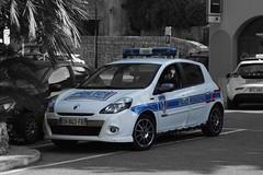 Police Municipale Eze Renault Clio Gordini series (Boss-19) Tags: police municipale | place charles de gaulle avenue verdun ze arrondissement nice kanton villefranchesurmer departement alpesmaritimes 06 region provencealpescte dazur paca france renault clio gordini series ch843fb