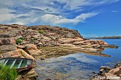 seascape Sweden (Peter Bergmann - Fotograf) Tags: sweden seascape sea maritime shoreline coast boat