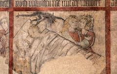 The Demon of Lust (Lawrence OP) Tags: goslar germany lowersaxony unesco worldheritage medieval fresco demon lust bed lovers