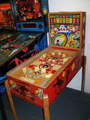 OH Berea - Singapore (scottamus) Tags: pinball machine game table arcade woodrail cabinet singapore united 1947 berea ohio kidforcecollectibles