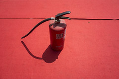 Red (Shubh M Singh) Tags: red fire extinguisher india ricoh gr chandigarh still life