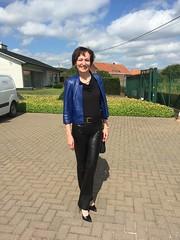 IMG_5710 (valkex1) Tags: black leather pants mature wife