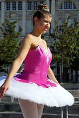 DSC06340 (liverpix) Tags: cleo dog performing anthonywalsh photowalk 500px liverpool pierhead liverbuilding ballerina ballet