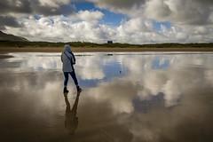 Ballymastoker Beach (Trev Bowling) Tags: ballymastoker beach donegal ireland eire sea reflection mirror shine
