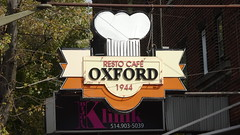 Resto caf Oxford 1944 (Sylvain Mnard) Tags: can canada geo:lat=4547118857 geo:lon=7361460104 2016 t septembre geotagged montral notredamedegrce qubec caf restaurant sherbrooke ndg