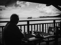 Loneliness (Laurent Camus) Tags: caribbean laurentcamusphotography tilocamus972 lightroom atmosphere loneliness man noiretblanc blackandwhite