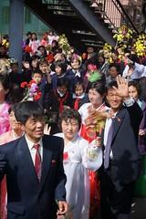 Pyongyang Celebrations (Joseph A Ferris III) Tags: flower celebrations northkorea pyongyang dprk juche kimilsungbirthday
