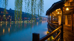 Wuzhen at night (shenxy) Tags: china wuzhen zhejiang     jiaxing