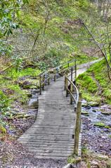 (alanhinchcliffe) Tags: bridge canon river hall wooden buxton stream derbyshire valley 17 40 hdr whaley 500d goyt errwood f4l fernilee grymshawes