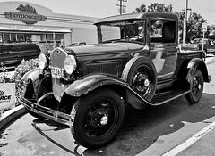 1930 Model A Ford Pick-up Truck - Nikon N55 - AF Nikkor 28-80mm F/3.3-5.8 G - TMAX 400 (divewizard) Tags: california blackandwhite bw white black slr ford blancoynegro film blanco analog truck blackwhite analgica model nikon noir noiretblanc kodak tmax negro pickup 400 manhattanbeach tmax400 et blanc fordtruck 1930 fordpickup n55 pelcula losangelescounty nikonn55 blackandwhitephotos 2880mmf3356g schwarzundweiss a 1930modela modelatruck modelapickup chrisgrossman 1930modelaford fromexmarinadelrey afnikkor2880mmf3358g