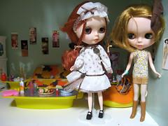 Amandine and Lili