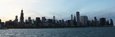 Chicago Skyline (anhelika93) Tags: city sunset sky lake chicago skyline buildings searstower chitown lakemichigan johnhancock chicagoskyline windycity alderplanetarium willistower