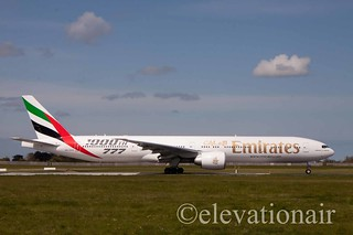 A6-EGO Boeing 777-31HER Emirates - 1000th 777