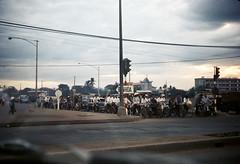 Saigon traffic - Feb 1969 - Ngã tư Hàng Xanh - Nhà thờ và trường Nguyễn Duy Khang (manhhai) Tags: 1969 vietnam saigon tray45