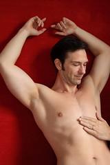 Mark - A Caress (Zefrog) Tags: shirtless portrait man sexy muscles studio topless maleform zefrog