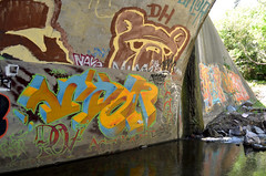 scor (thesaltr) Tags: art graffiti tunnel bayarea eastbay t001 scor thesaltr