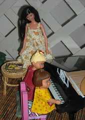 Happy Mother's Day (Emily1957) Tags: mom daughter barbie legos duplo toypiano happymothersday pianolovers