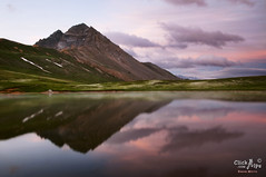 Before dawn (Simone Miotto) Tags: morning wild mountain lake reflection nature water beauty sunrise landscape dawn reflex outdoor riflesso