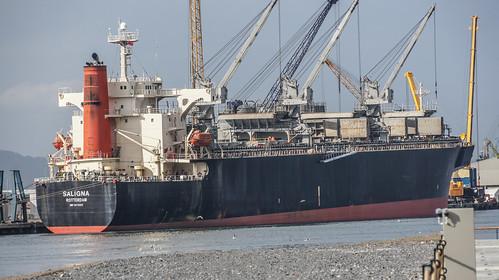 Saligna Docked In Belfast Port