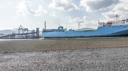 MS Anglia Seaways Docking (Belfast Port)