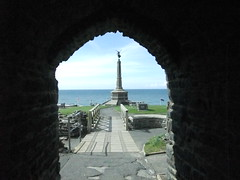 Aberystwyth (alexliivet) Tags: uk sea castle wales cymru aberystwyth warmemorial ceredigion