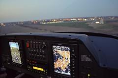 Focus (SkySNAPS Photography) Tags: flying nikon michigan aviation annarbor landing approach 162 cessna lsa generalaviation karb sportflying annarborairport skycatcher d5100 n444um